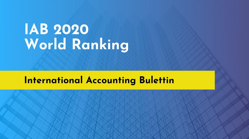 IAB 2020 World Ranking